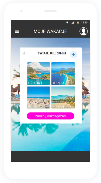 moje wakacje aplikacja kierunki